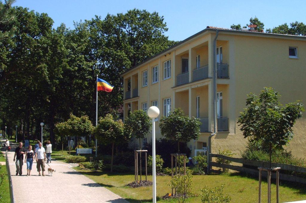 Auf dem Bild ist das Haus Seeschlösschen zu sehen.